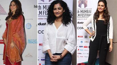 Pretty Women at MAMI: Preity, Gauri, Huma
