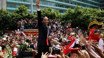 Joko Widodo sworn in as Indonesia's new president