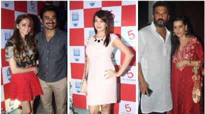 Celebs are in party mode - Preeti, Suniel, Rannvijay