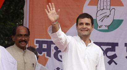 Rahul Gandhi addresses first campaign rally