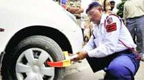 Special naka: 164 vehicles issued challans for violating traffic rules
