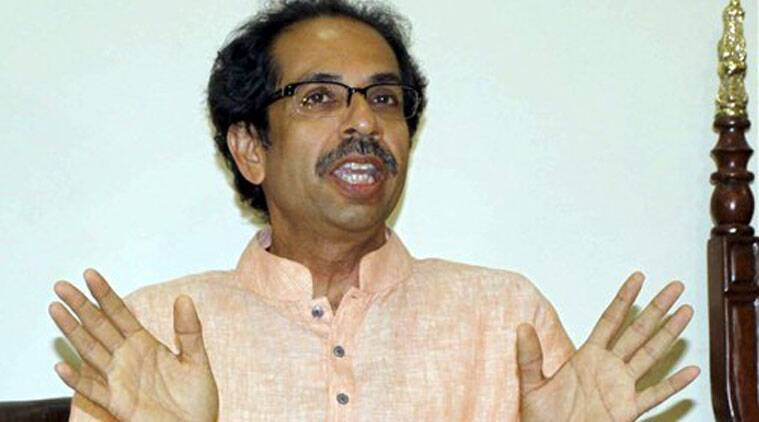 Shiv Sena president Uddhav Thackeray interacts with media during a press conference in Mumbai on Sunday. (Source: PTI)
