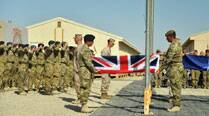 UK troops end military operations in Afghanistan's Helmand province