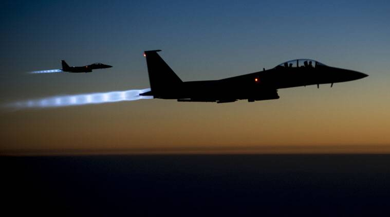 The Pentagon said that US air strikes has helped to keep Islamic State militants from taking Kobani.