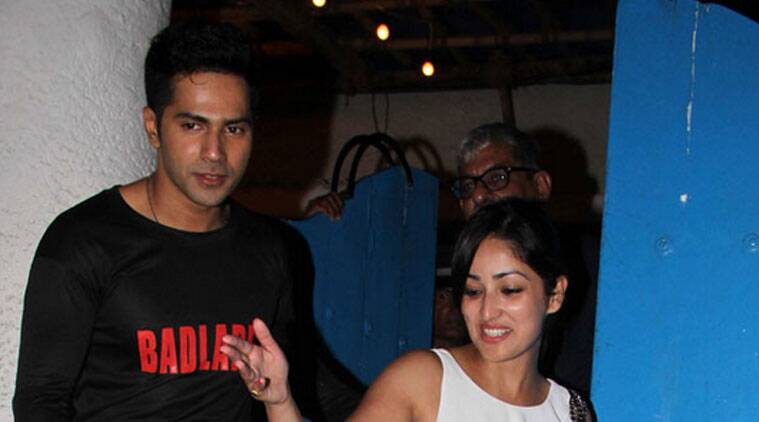 """""""It took 12 years for the director to make this film. I have seen the film and I loved it... This film inspired me to watch world cinema. All kinds of films help an actor to grow. I don't see any difference between commercial or art cinema -- a film is a film,"""" Varun Dhawan told reporters before the screening of """"Boyhood"""" at Cinemax, Versova. (Source: Varinder Chawla)"""