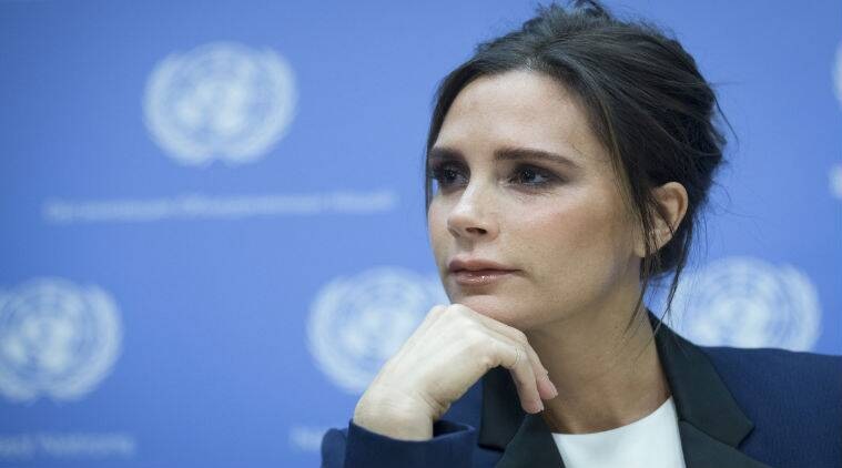 Victoria Beckham has been named Britain's most successful entrepreneur. (Source: AP)