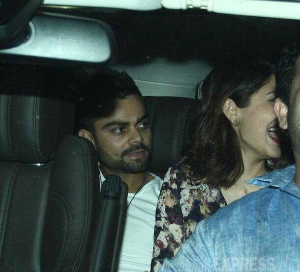 Official now? Lovebirds Anushka Sharma, Virat Kohli enjoy dinner together