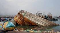 Cyclone Hudhud: Work on to get Vizag harbour fully functional atearliest