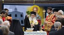 Hundreds attend blessing ceremony for new church near groundzero
