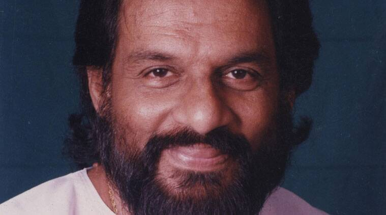 K J Yesudas was speaking at an event in Thiruvananthapuramm.