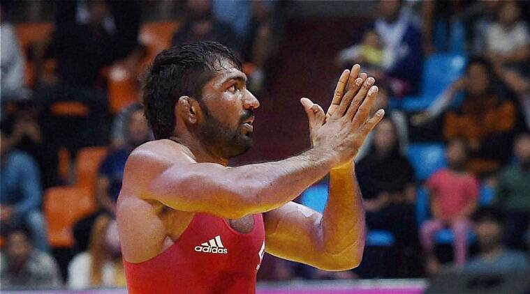 Yogeshwar has won gold in all three tournaments -- International wrestling tournament in Sassari city, Italy, Commonwealth Games in Glasgow and Asiad in Incheon -- after moving to a higher weight category of 65kg freestyle (Source: PTI)