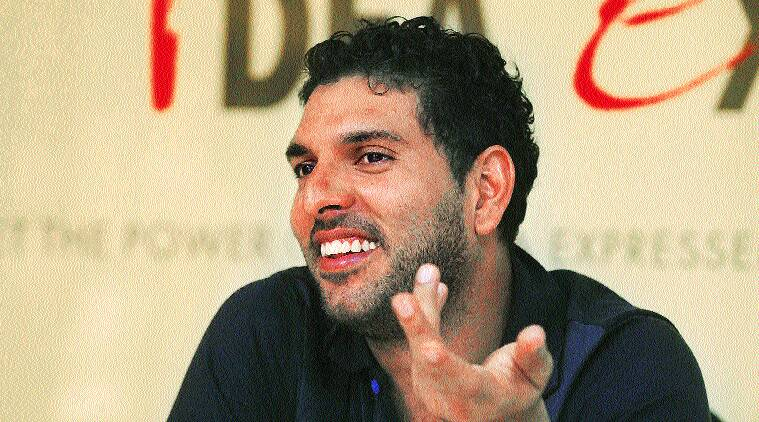 Yuvraj Singh was the player of the tournament when India won the World Cup at home a little over three years ago. A lot has happened since then. First, he battled with cancer. Then he struggled with indifferent form. As a result, Yuvraj is on the sidelines as Team India's preparations to defend its title get into full swing with the World Cup just around the corner (Source: Express Photo by Jasbir Malhi)