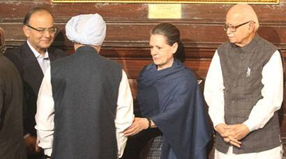Today in pics: Sonia, Advani join other MPs during floral tributes to Indira Gandhi