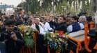 Mulayam's birthday bash: Rides imported buggy, cuts 75 kg cake