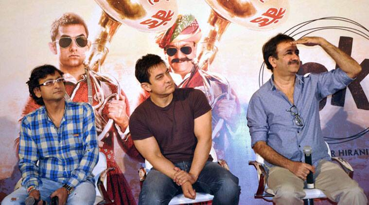 """""""When you watch the film you will come to know what 'PK' stands for. But I can say that it will be very unusual,"""" says Raju Hirani. (Source: PTI)"""
