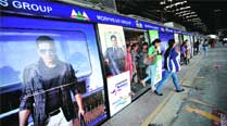 Metro's first 'ad train' takes off