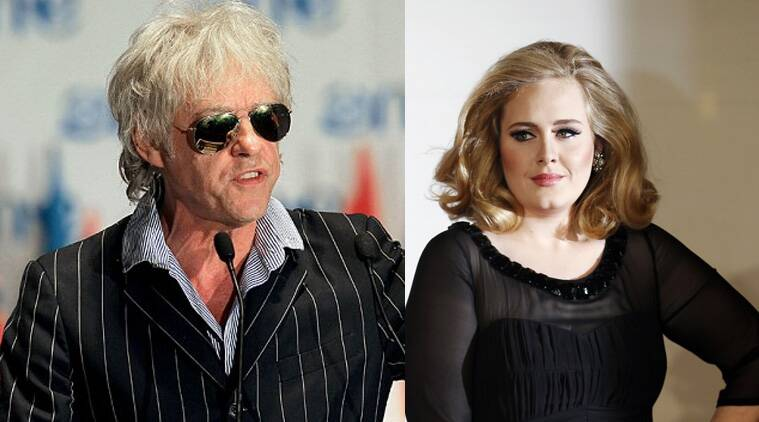 """Adele did not respond to the calls made by the charity record's organisers for her participation, reported Contactmusic. """"Adele is doing nothing. She's not answering the phone. She's not writing. She's not recording. She doesn't want to be bothered by anyone,"""" Geldof, 63, said."""