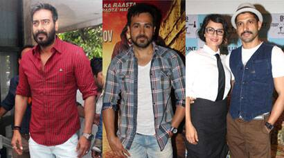 Ajay Devgn 'fights' it out; Emraan, Farhan have it light