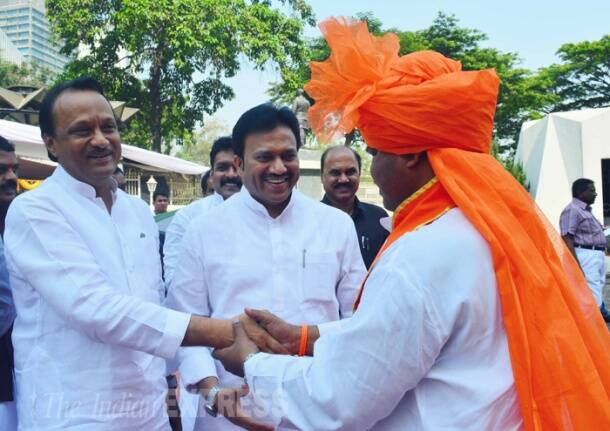 New members of Maharashtra assembly attend first session