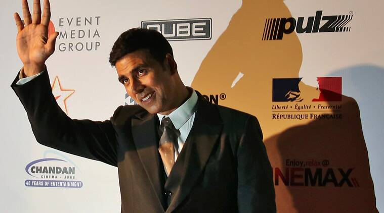 Superstar Akshay Kumar has finally agreed to be a part of the project. (Source: Express Photo)