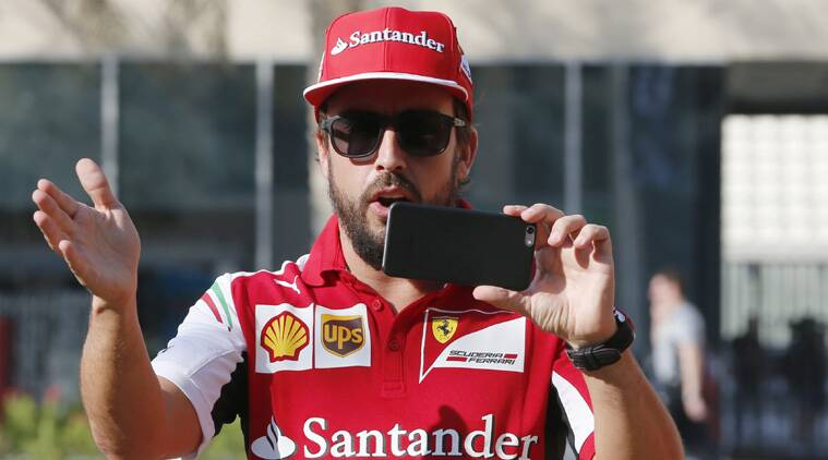Fernando Alonso also made clear that he had decided to leave rather than Ferrari opting to replace him with Sebastian Vettel (Source: Reuters)