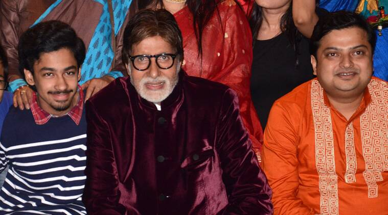 """""""Should kids or should kids not? Isn't there a bigger responsibility of creating a holistic online environment? I'm happy to be a part of a unique initiative for kids,"""" Big B posted on social networking site Facebook Tuesday referring to worldoo.com."""