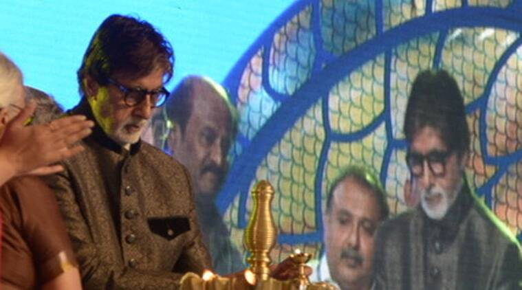 The 45th edition of the IFFI got off to a glittering start at a ceremony here amid the towering presence of legendary actors Rajinikanth and Amitabh Bachchan, Information and Broadcasting Minister Arun Jaitley, Goa Chief Minister Laxmikant Parsekar and Union Defence Minister Manohar Parrikar.
