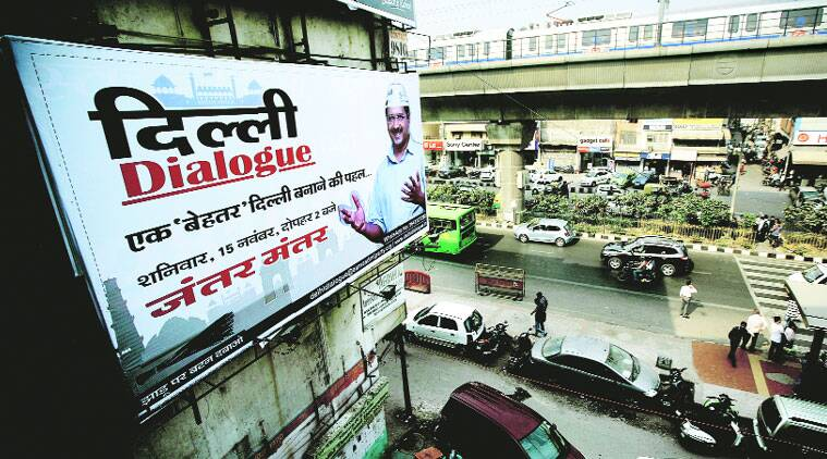 AAP's Delhi Dialogue aims to focus on youth issues  (Source: Express photo by PRAVEEN KHANNA)