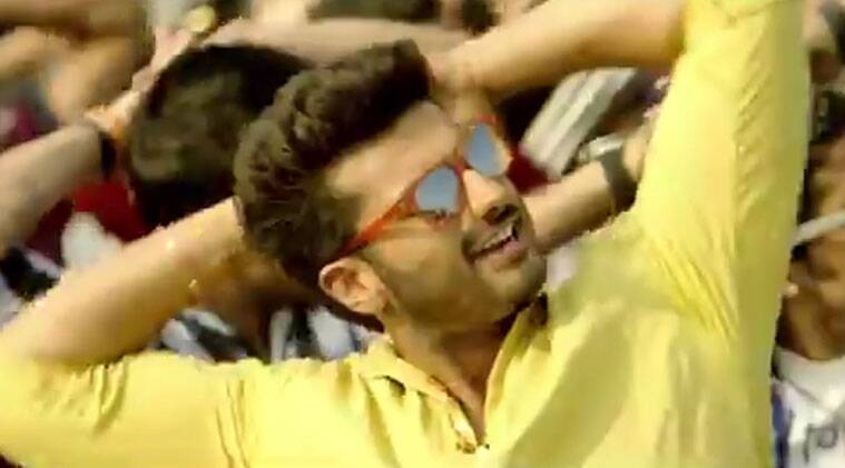 The song has a tevar-waala Arjun dancing and romping on the streets of Agra and threatening people not to take 'pangaa' with him.