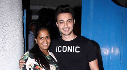 SPOTTED: Newly weds Arpita Khan, Aayush Sharma on an outing