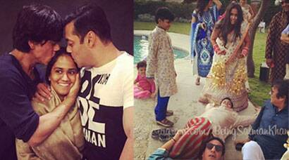 Best pictures from Arpita Khan's wedding: Salman Khan's 'kalirey' moment, SRK-Salman unison, Aamir, Katrina