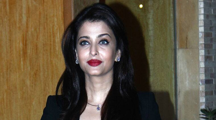 Aishwarya Rai Bachchan looked stunning and elegant as always, said she was in a happy space.