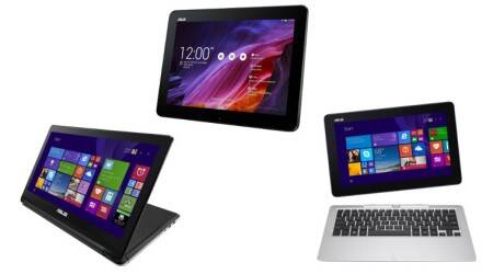 Asus has launched the Transformer Flip Book, Transformer T200 and Transformer Pad TF103.