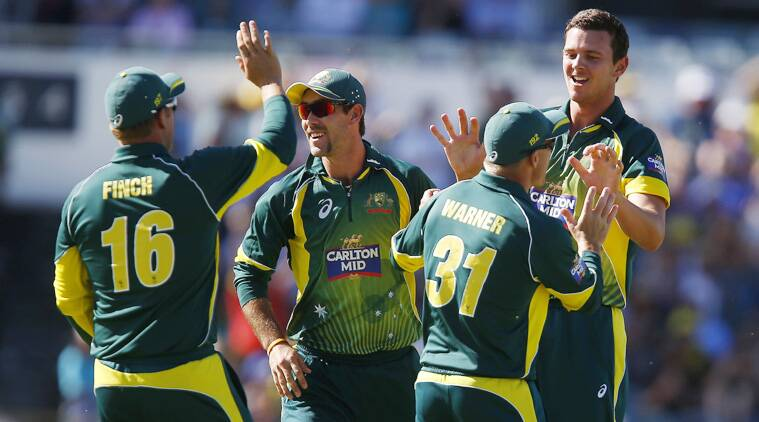 Hazelwood accounted for three important wickets that of De Kock, Hashim Amla and .(Source: AP File)