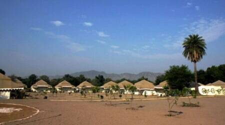 Pushkar: The AWX camp offers a rustic experience, albeit in luxury