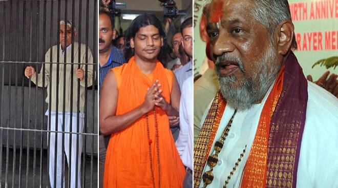 Sant Rampal, Chandraswami, Nithyananda: Babas on the wrong side of law