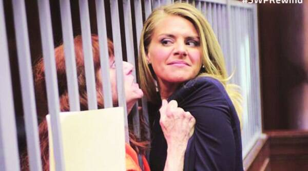 Eliza Coupe as Nina Whitley in Benched