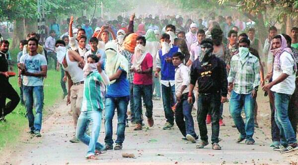 BHU students clash with the police on Thursday