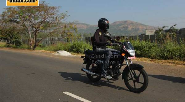 Team Gaadi spotted two Platinas which were doing the test runs to examine performance and engine efficiency of the new motorcycle.