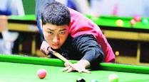Chinese prodigy,14, upsets Pankaj Advani at Worlds