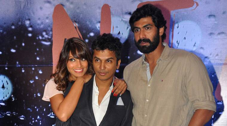 """My film stars Rana and Bipasa and the storyline has nothing to do with their past film 'Dum Maaro Dum'. 'Nia' is strong story and for that I needed two sensible hearts which Bipasha and Rana have,"" Vikram told reporters here. (Source: Varinder Chawla)"