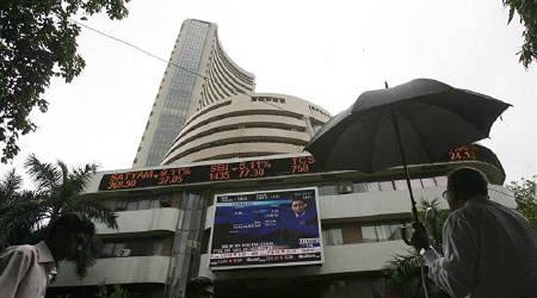 The 30-share BSE Sensex after opening in negative zone dropped further to touch the day's low of 27,921.34 on profit-taking at high levels. (Reuters)