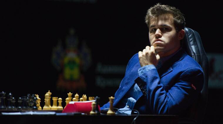 Magnus Carlsen closed the 12-game match with a 6.5-4.5 scoreline, courtesy his win in the penultimate game (Source: AP)