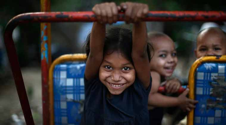 Play spaces will be created around the homes of children, parks, terraces, basements, open plots or any space safe for a child to play. (Source: Reuters photo)