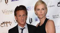Charlize Theron, Sean Penn party with his daughter