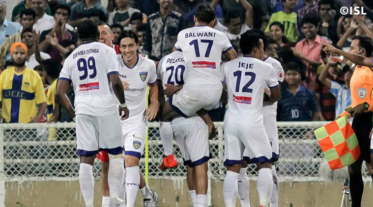Chennaiyin FC consolidate their position at the top with 19 points from 10 games (Source: ISL)