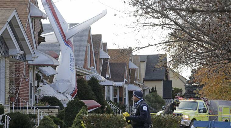 A small twin-engine cargo plane crashed into a Chicago home Tuesday, killing the pilot.