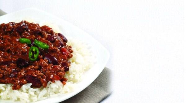 Chili with Rice at Summer House Café