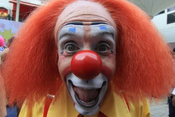 Why so serious? Clowns take over Mumbai
