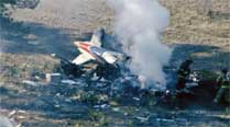 Plane on training sortie crashes in Indore, twoinjured